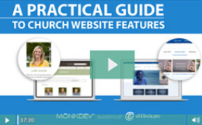 Webinar A Practical Guide To Church Website Features